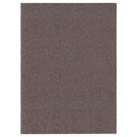 Ковер, длинный ворс АЛЛЕРСЛЕВ коричневый фото 3