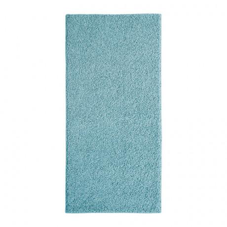Ковер, длинный ворс АЛЛЕРСЛЕВ синий фото 0
